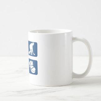 Lawn bowl therapy designs coffee mug