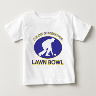 Lawn bowling design baby T-Shirt