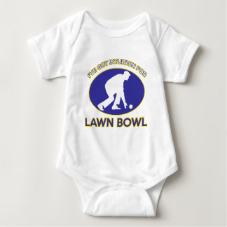 Lawn bowling design infant creeper