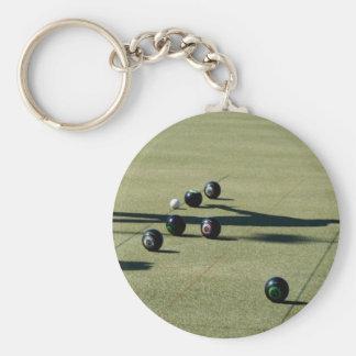 Lawn Bowls Close Call, Keychain