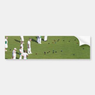 Lawn Bowls England Bumper Sticker
