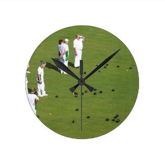 Lawn Bowls England Wallclocks