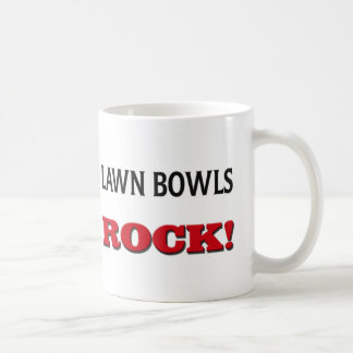 Lawn Bowls Rock Classic White Coffee Mug