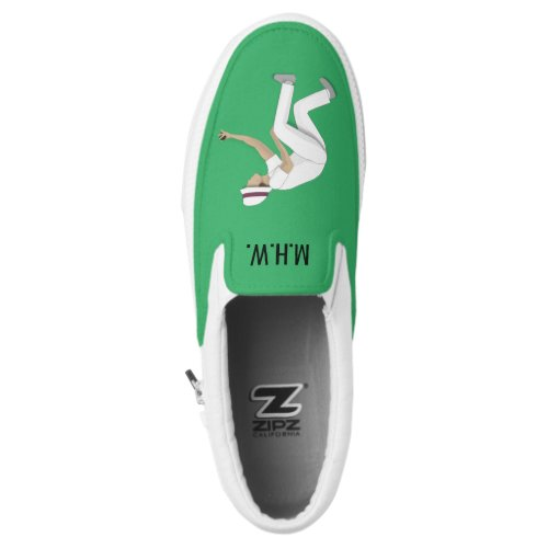 Lawn Bowls Slip-On Sneakers