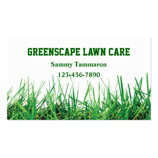 Landscaping Business Card Templates Page BizCardStudio - Lawn care business cards templates free