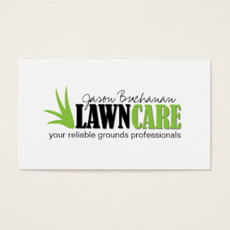 Grounds Keeping Business Cards Templates Zazzle - Lawn care business card templates