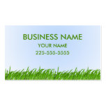 Lawn Care Double-Sided Standard Business Cards (Pack Of 100)