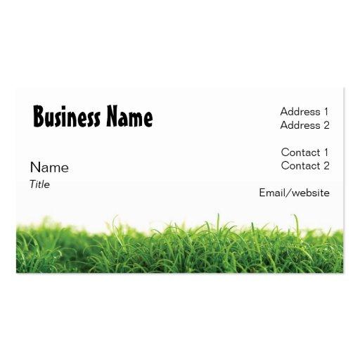 Lawn care business cards ideas joy studio design gallery for Garden maintenance business