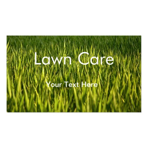 Lawn care business card template zazzle for Garden maintenance business