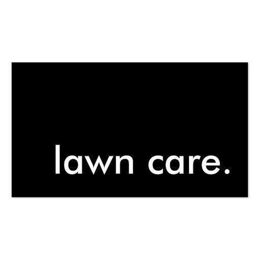 Lawn care business card business card templates page3 bizcardstudio lawn care business card templates accmission Images