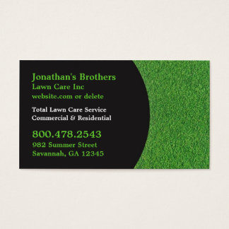 Lawn Care Business Cards 600 Lawn Care Business Card Templates
