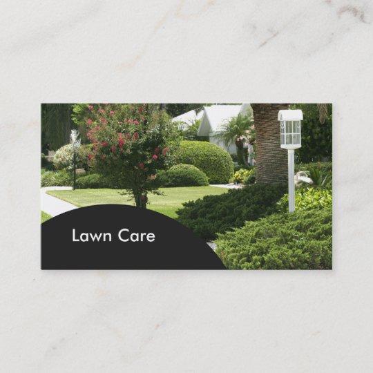 lawn care business cards - Lawn Care Business Cards
