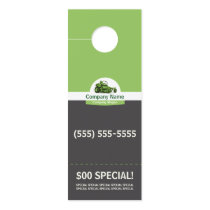 Lawn Care Door Hanger