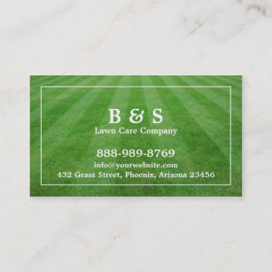 Lawn care business cards 600 lawn care business card templates lawn care field grass business card reheart Choice Image