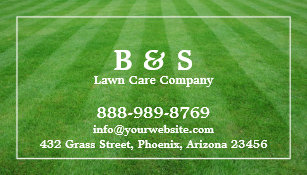 Lawn care business cards 600 lawn care business card templates lawn care field grass business card colourmoves
