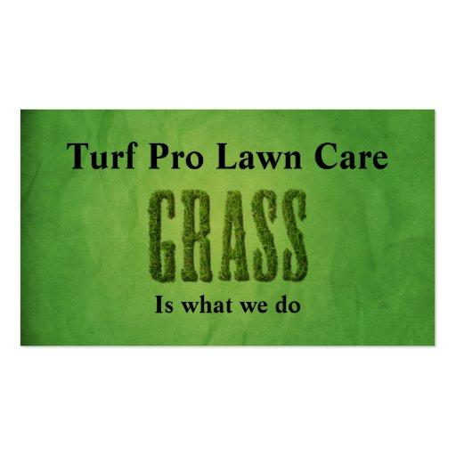 Lawn Care & Landscaper Business Card Templates