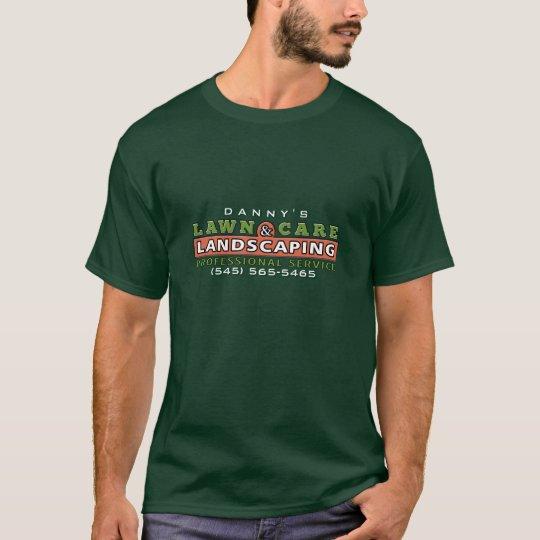 Lawn Care & Landscaping Custom Business T-shirt   Zazzle.com