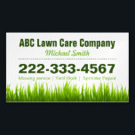 """Lawn Care Landscaping Services Green Grass Style Business Card Magnet<br><div class=""""desc"""">Lawn Care Landscaping Services Green Grass Style - Simple Stylish Book an Appointment - Green Grass Style and Unique Business Card Magnet Template for you. All text style,  colors,  sizes and the background color can be modified to fit your needs. If you need any customization,  please contact me.</div>"""