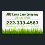 "Lawn Care Landscaping Services Green Grass Style Business Card Magnet<br><div class=""desc"">Lawn Care Landscaping Services Green Grass Style - Simple Stylish Book an Appointment - Green Grass Style and Unique Business Card Magnet Template for you. All text style,  colors,  sizes and the background color can be modified to fit your needs. If you need any customization,  please contact me.</div>"