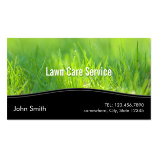 Lawn Care Landscaping Spring Green Business Card