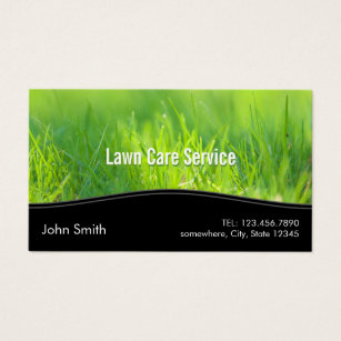Lawn care business cards 600 lawn care business card templates lawn care landscaping spring green business card colourmoves Gallery