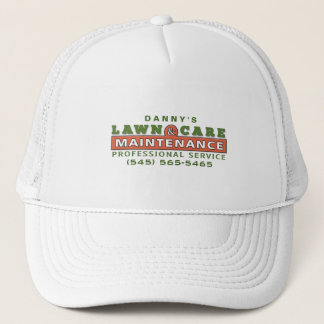 Lawn Care & Maintenance Custom Business Logo Hat