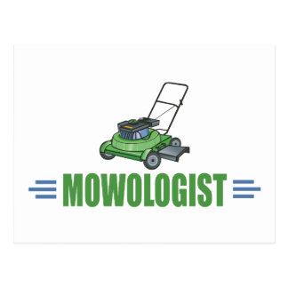 Lawn Care Mowing Grass Lawns Landscaping Yards Postcard