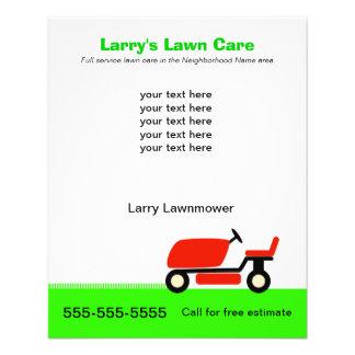 Lawn Care Services Flyer Design