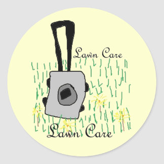 lawn care stickers