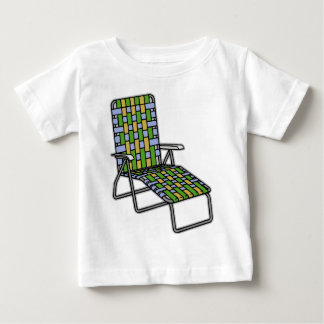 Lawn Chair Chaise Lounge Baby T-Shirt