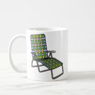 Lawn Chair Chaise Lounge Coffee Mug