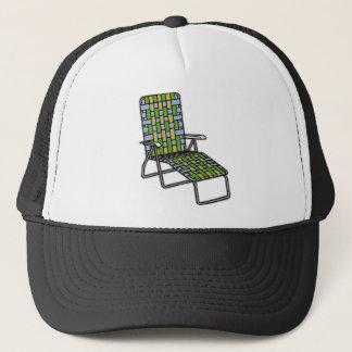 Lawn Chair Chaise Lounge Trucker Hat