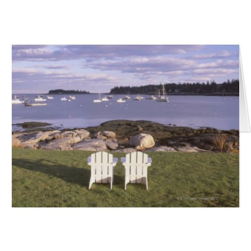 Lawn Chairs at Lobster Village Cards