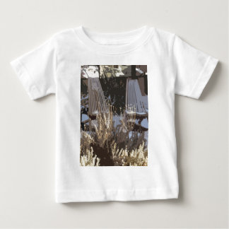 Lawn chairs in winter baby T-Shirt
