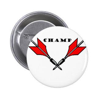 Lawn Dart Champion Pinback Button