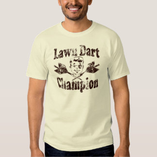 Lawn Dart Champion Shirt