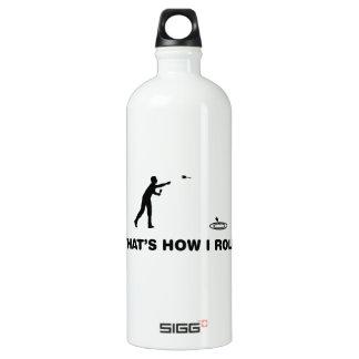 Lawn Darts Aluminum Water Bottle