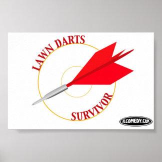 Lawn Darts Survivor Poster