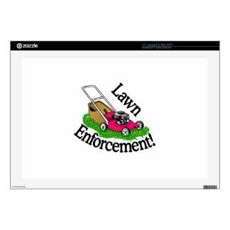 Lawn Enforcement Decals For Laptops