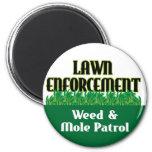 Lawn Enforcement Magnets