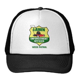 Lawn Enforcement Officer Trucker Hat