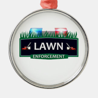 LAWN ENFORCEMENT CHRISTMAS TREE ORNAMENT