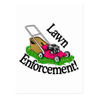 Lawn Enforcement Postcard