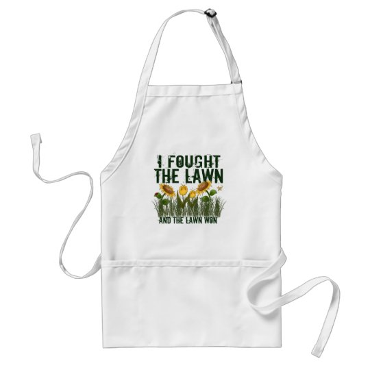 Lawn Fighter Adult Apron