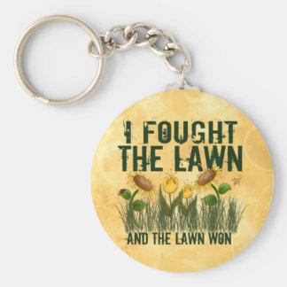 Lawn Fighter Keychain