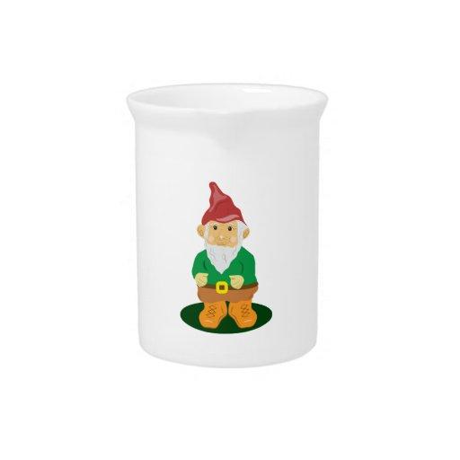 Lawn Gnome Beverage Pitchers