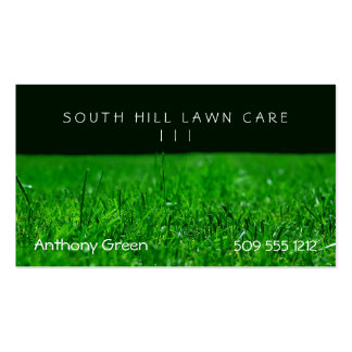 Lawn Grass Business Cards