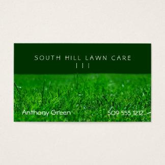 Lawn Grass Business Card