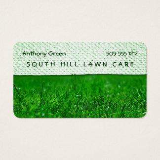 Lawn Grass Texture Look Business Card