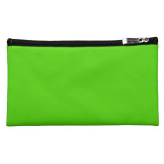 LAWN GREEN (how does your color grow?) ~ Cosmetic Bag